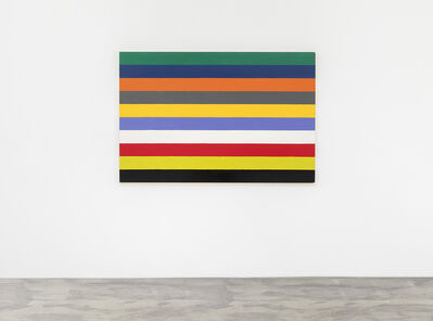 Poul Gernes, 'Untitled (Stripe painting)', 1966-1967