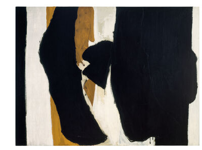 Robert Motherwell, 'Wall Painting No. IV', 1954