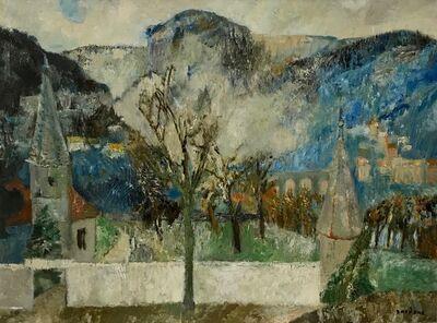 Guy Bardone, 'Premiere neige à St. Claude', 1958
