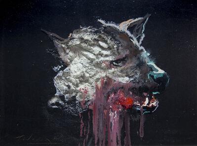 juan miguel palacios, '3D Painting of Wolf: 'The Hunter XXXVI'', 2019