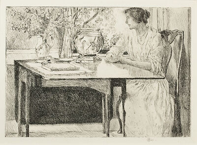 Childe Hassam, 'The Colonial Table', 1915