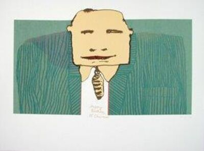 Robert Hodgins, 'Happy Birthday Mr Chairman', 1999