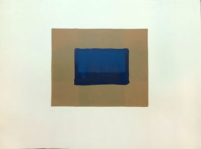 Howard Hodgkin, 'Indian Views – Plate A', 1971