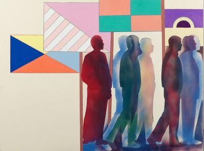 Renato Mambor, 'Manifestazione', 2008