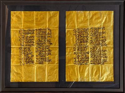 James Lee Byars, 'Description of Torino Exhibit (Castello di Rivoli)', 1989