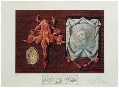 Salvador Dalí, 'Les Spoutniks astiqués d'asticots statistiques ', 1971