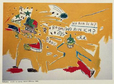 Jean-Michel Basquiat, 'Basquiat at PS Gallery (vintage 1980s Basquiat announcement) ', 1987