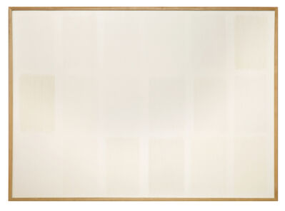 herman de vries, 'from earth, white', 1990