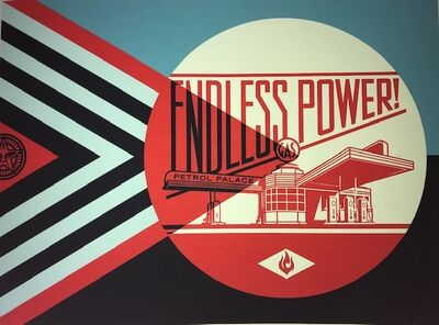 Shepard Fairey, 'Endless Power', 2019
