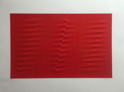 Agostino Bonalumi, 'Untitled (rosso)', 2001