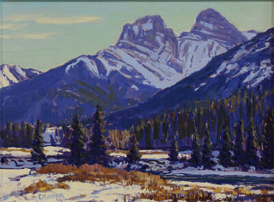 William Duma, 'Near Canmore (7-19)', 2019