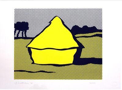 """Roy Lichtenstein, 'Haystack (a.k.a. """"Yellow Haystack"""")', 1969"""