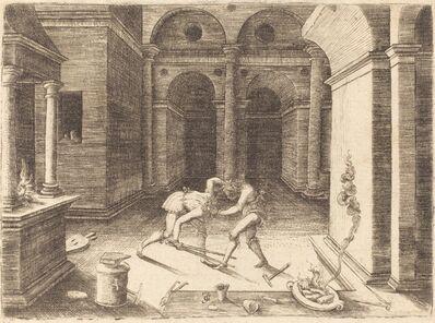 Jean de Gourmont I, 'Two Apprentices Fighting'