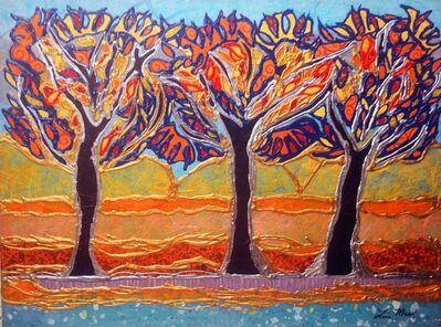 Lisa Mee, 'Golden Tree Grove', 2020