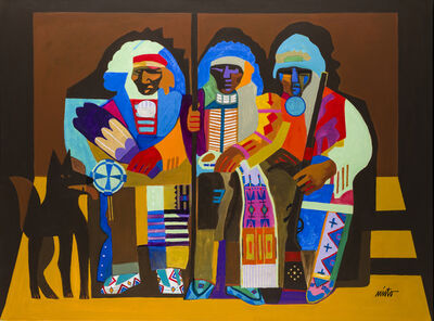 John Nieto, 'Three Chiefs', 2015