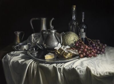 Gregory Block, 'Grapes and Brie', 2016