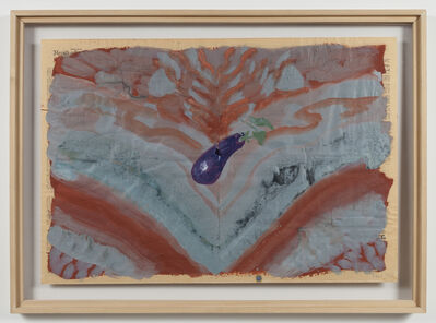 Paul Thek, 'Untitled (Eggplant)', 1974