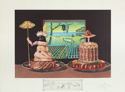 Salvador Dalí, 'The 'I Eat Gala's' (Les 'Je Mange Gala)', 1971