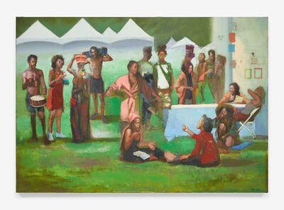 Sylvia Maier, 'The Festival', 2018