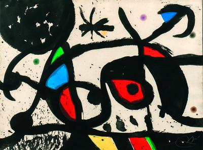 Joan Miró, 'Charivari', 1976