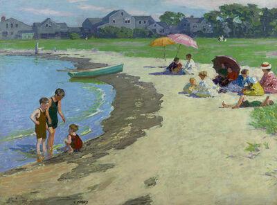 Edward Henry Potthast, 'A Family Picnic', ca. 1910-1920