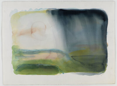 William Tillyer, 'Rain and Storm near the Sea'