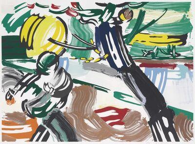Roy Lichtenstein, 'The Sower, from Landscape Series', 1985