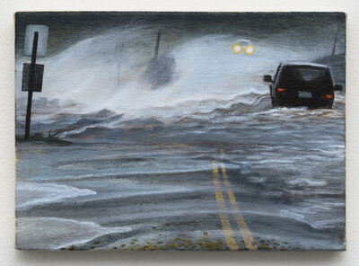 Rashell George, 'Flooded Street (with Cars)', 2019