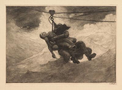 Winslow Homer, 'Life Line', 1884; probably printed c. 1940