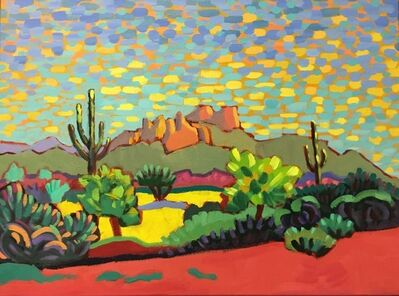 "Claudia Hartley, '""Simply Desert""', 2019"