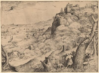 Pieter Bruegel the Elder, 'The Rabbit Hunters', 1566
