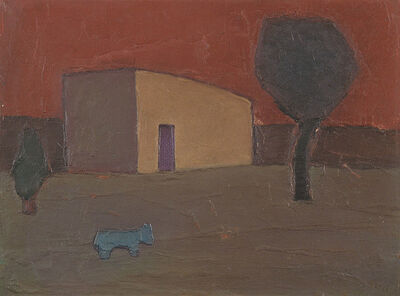 Manuel Reyna, 'CASITA CON PERRO', 1975