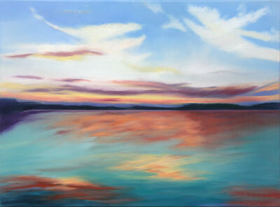 Douglass Freed, 'Lake Sunset #14', 2020