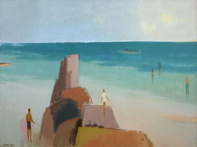 Herman Maril, 'Kendall Lane Beach', 1983