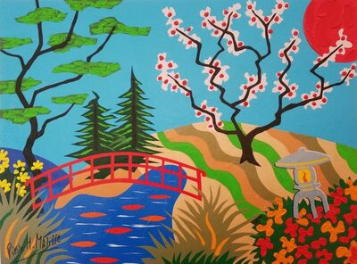 Pierre Henri Matisse, 'Cherry Blossom Bridge', 2016
