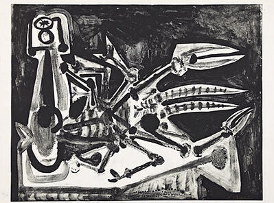 Pablo Picasso, 'Le homard (Der Hummer)', 1949