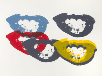 Andy Warhol, 'Sunday B Morning Marilyn, I Love Your Kiss Forever'