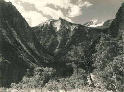 Ansel Adams, 'Lower Paradise Valley', c. 1927