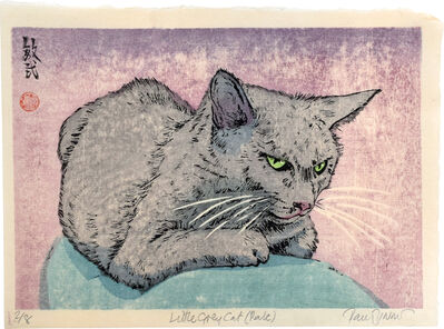Paul Binnie, 'Little Grey Cat (Pale)', 2019