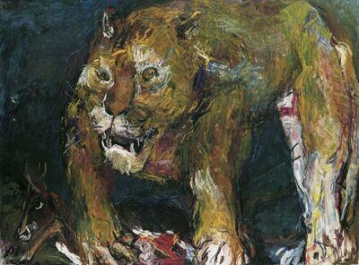Oskar Kokoschka, 'Tigerlöwe', 1926