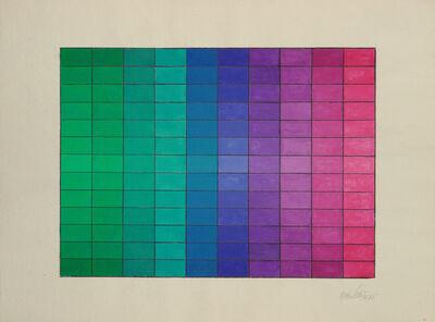 Alejandro Puente, 'Tramando colores y luces', 1972
