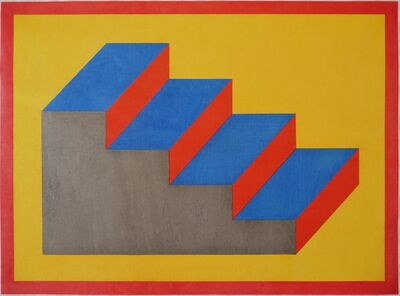Sol LeWitt, 'Form Derived from a Cubic Rectangle (steps)', 1992