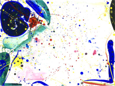 Sam Francis, 'Bright Ring Drawing', 1962