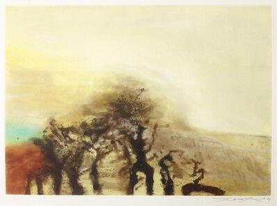 Zao Wou-Ki 趙無極, 'Sans titre - Untitled', 1989