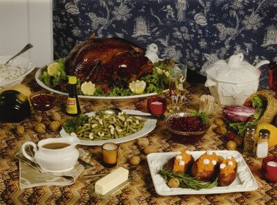 Roe Ethridge, 'Thanksgiving 1984 (Table)', 2009
