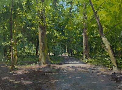 Marc Dalessio, 'Path in Maksimir', 2014