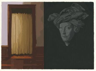 Sean Cain, 'Museum Doorway with Van Eyck Portrait', 2017