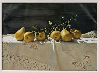 Yingzhao Liu, 'Still Life with Pears'