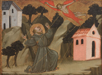 Mariotto di Nardo, 'Saint Francis Receiving the Stigmata', ca. 1408