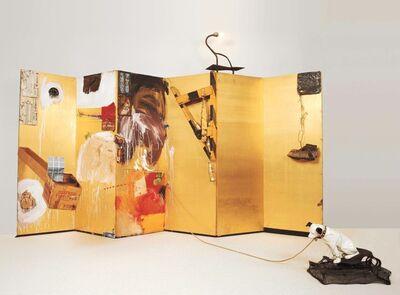 Robert Rauschenberg, 'Gold Standard', 1964